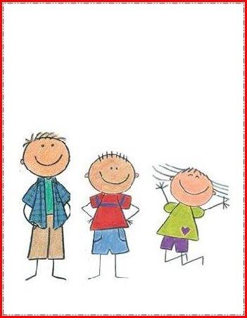 tarjeta dia del niño de color