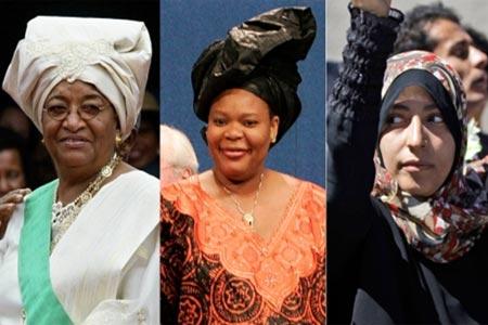 Premio Nobel de la Paz 2011
