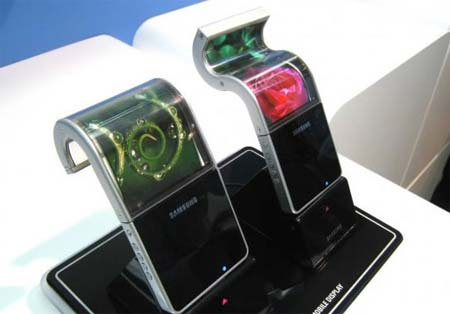pantallas flexibles tecnologia