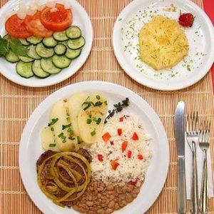 Dietas para bajar de peso: Porciones de alimentos