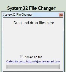 Como realizar cambios en Sistem32