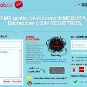 Enviar SMS gratis con enviado