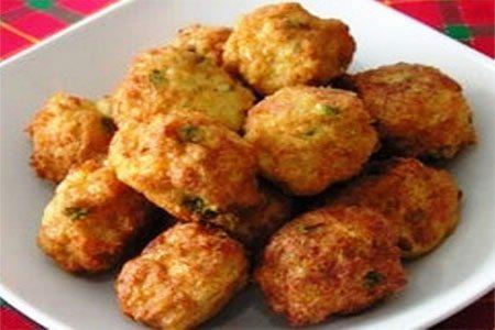 Recetas de cocina bolas de pollo y queso for Cocina facil y rica