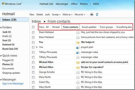 Bandeja de entrada Hotmail - Datines.com
