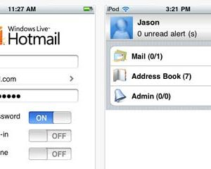 hotmail apple