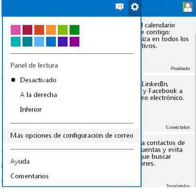 Personalizando tu correo Outlook de Correo Hotmail