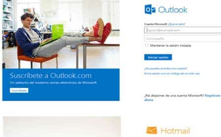 outlook y hotmail